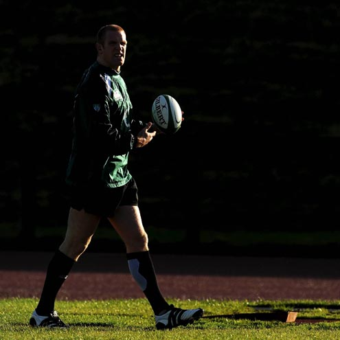 Ireland Squad Training At The University Of Limerick, Monday, November 10, 2008