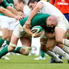 Paul O'Connell continued to make the hard yards for Ireland, although France were now in full control at 26-8 in front