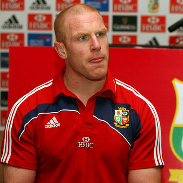 Paul O'Connell is itching to get back in the Lions jersey this weekend