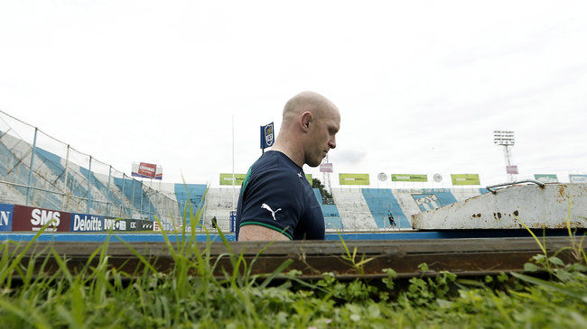 Paul O'Connell at Estadio José Fierro