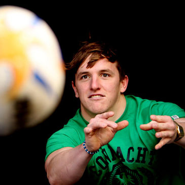 Connacht scrum half Paul O'Donohoe