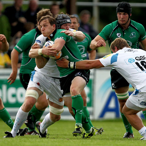 Paul O'Donohoe in action for Connacht