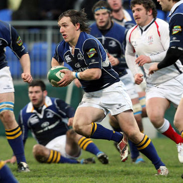 Paul O'Donohoe in action for the Leinster 'A' side