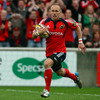But Munster did not have to wait long for their opening try. Full-back Paul Warwick burst through to touch down on the quarter-hour mark