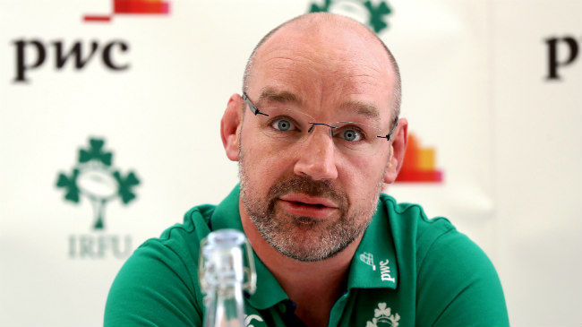 Ireland U-20 head coach Peter Malone