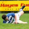 Before the break, 18-year-old full-back Peter Nelson crowned his Ulster Bank League debut with a well-taken try