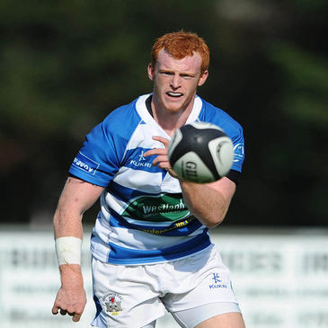 Peter Nelson in action for Dungannon in the Ulster Bank League
