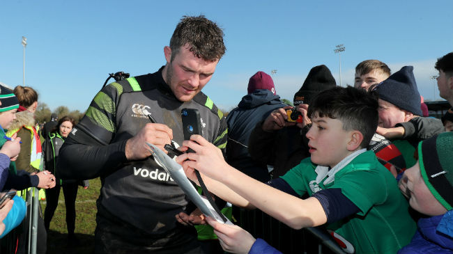 Irish Rugby TV: Fond Memories For O'Mahony In Dubarry Park