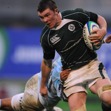 Ireland Under-20 captain Peter O'Mahony in action against Argentina