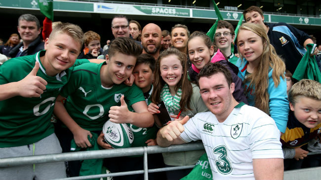 In Pics: Ireland Open Training Session In Aviva Stadium