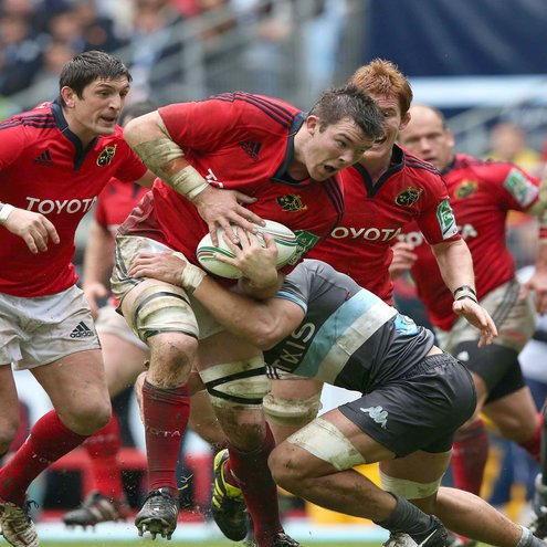 Racing Metro 92 22 Munster 17, Stade de France, Saturday, October 13, 2012