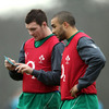 Munster youngsters Peter O'Mahony and Simon Zebo are two of the uncapped players included in the Ireland training squad for the Wales game