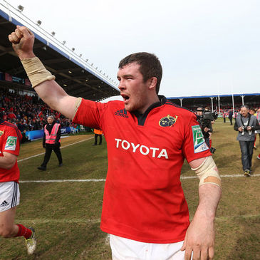 Munster's new captain Peter O'Mahony