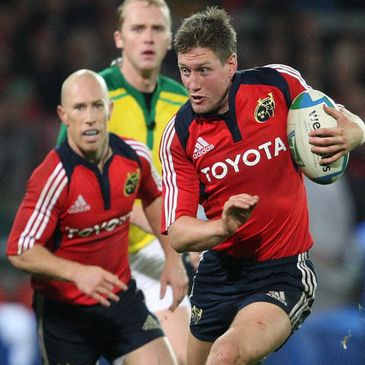 Munster's Peter Stringer and Ronan O'Gara