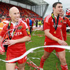 Peter Stringer and Felix Jones were part of Munster's matchday squad for the all-Irish Magners League decider