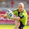 In his first Amlin Challenge Cup appearance, Peter Stringer came off the bench to score a try in Munster's 42-37 victory over Brive