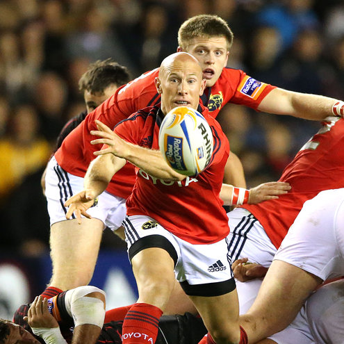 Veteran Munster scrum half Peter Stringer