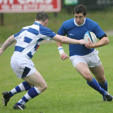 Philip Brophy on the attack for St. Mary's College