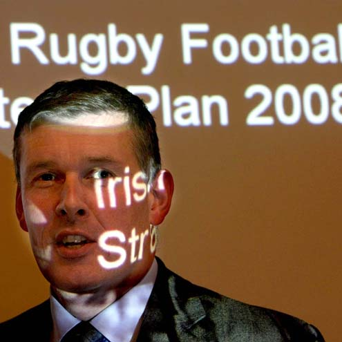 Launch Of The IRFU's 2008-2012 Strategic Plan, Ballsbridge, Dublin 4, Thursday, September 25, 2008