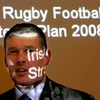 IRFU Chief Executive Philip Browne is pictured during the presentation of the Union's new Strategic Plan document, 'Building on Solid Foundations'