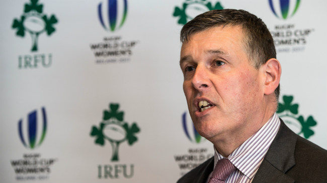 Browne Outlines Challenges Facing Irish Professional Rugby