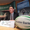 IRFU CEO Philip Browne spoke about how crucial the club game is in Ireland and how important the partnership with Ulster Bank will be