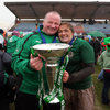 Two hugely important figures in Ireland's Grand Slam success were head coach Philip Doyle and captain Fiona Coghlan