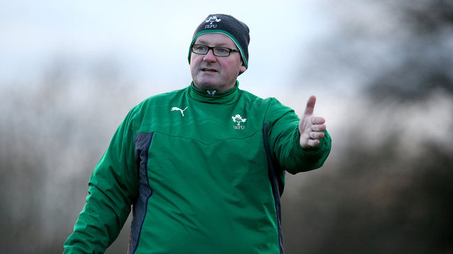 Ireland Women's head coach Philip Doyle