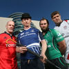 Leinster captain Leo Cullen tried out the bowler hat and umbrella look. It is a case of 'London Calling' for all 24 teams as the Heineken Cup final will be held at Twickenham next May