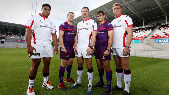 Ulster Launch New Home And Away Kits