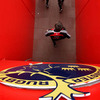 An overhead view of the entrance to the pitch at Thomond Park where the fans flocked to see their Munster heroes
