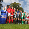 Doug Howlett from reigning champions Munster was top of the pile as the players posed with the newly-revealed RaboDirect PRO12 trophy