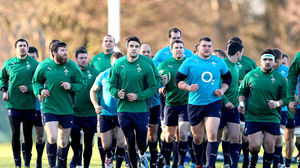 Ireland Squad Training Session At Carton House, Maynooth, Tuesday, February 4, 2014