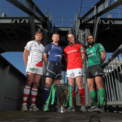 Photos of the Irish launch of the 2011/12 Heineken Cup tournament