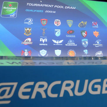 The draw for the pool stages of the Heineken Cup took place
