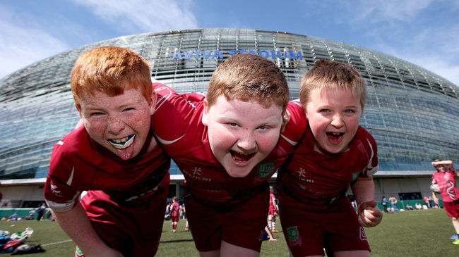 These Portarlington players enjoyed the festival