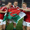 It looks like Mike Phillips and Jonathan Davies want to make Jonathan Sexton an honorary Welshman after he played with ten of them in the Lions' third Test win