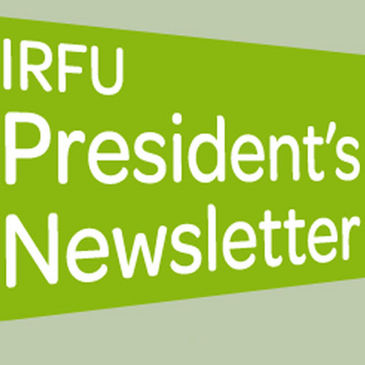 The IRFU President's Newsletter