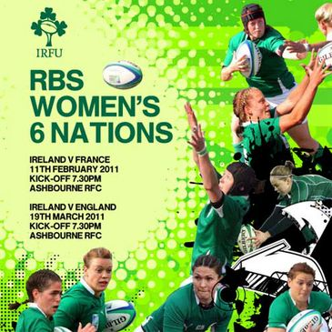 Support the Ireland Women at Ashbourne RFC