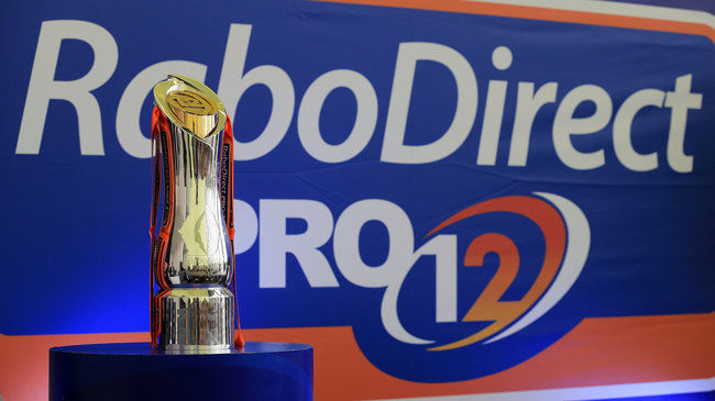 The RaboDirect PRO12 trophy