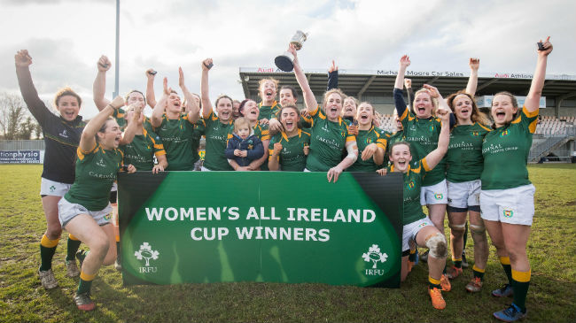 Women's All-Ireland Cup Draw Announced