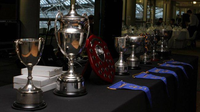 Railway Union's collection of trophies