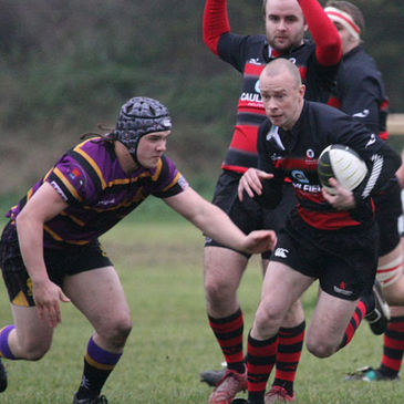 Action from the recent Rainey Old Boys v Instonians clash