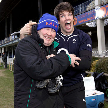 Paddy 'Rala' O'Reilly and Donncha O'Callaghan