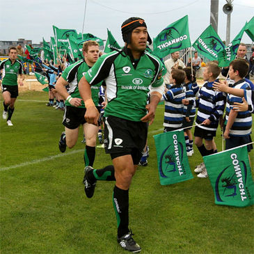 Connacht flanker Ray Ofisa