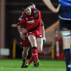 Scarlets out-half Rhys Priestland kicked four penalties on the night for a 12-point haul