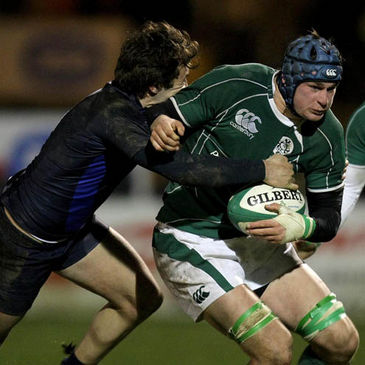 Rhys Ruddock in action for Ireland
