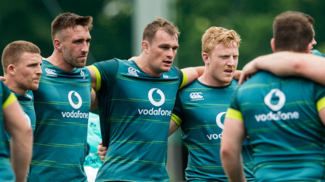 Irish Rugby TV: Ruddock Aiming to 'Finish Tour On A High'
