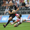 Winger Richard Fussell spearheads an attack for the Ospreys, who were hoping to bounce back from losing their league opener to Benetton Treviso