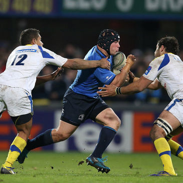 Richardt Strauss in action against Clermont Auvergne last Sunday